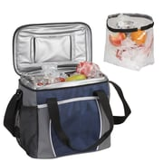 Preferred Nation 12 Can Courtyard Cooler; Navy