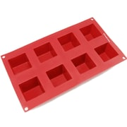 Freshware 8 Cavity Square Silicone Mold Pan