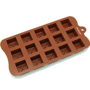 Freshware 15 Cavity Tiered Square Silicone Mold Pan