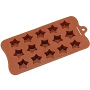 Freshware 15 Cavity Super Star Silicone Mold Pan