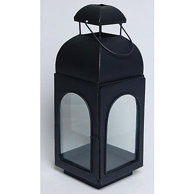 Kindwer Metal Lantern; 13'' H x 5'' W x 5'' D
