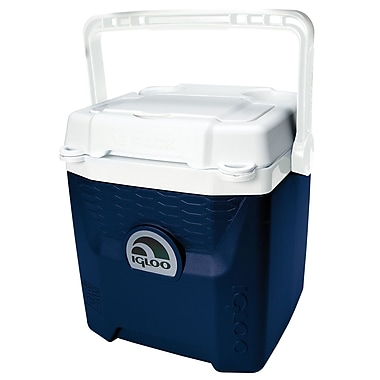 Igloo 18 Can Quantum Cooler; Midnight Blue/White