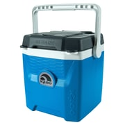 Igloo 18 Can Quantum Cooler; Electric Blue/Carbonite/White by