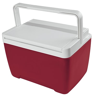 Igloo 9 Qt. Island Breeze Cooler; Diablo Red/White WYF078280044018