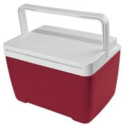 Igloo 9 Qt. Island Breeze Cooler; Diablo Red/White