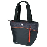 Igloo Stowe Tote Cooler; Black/Orange