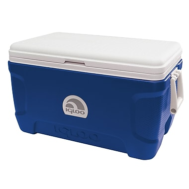 Igloo 52 Qt. Contour Cooler; Majestic Blue/White