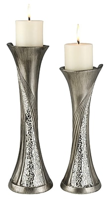 OK Lighting Andromeda 2 Piece Candlestick Set