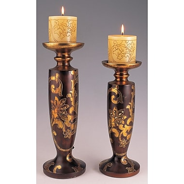 OK Lighting Arie 2 Piece Candlestick Set