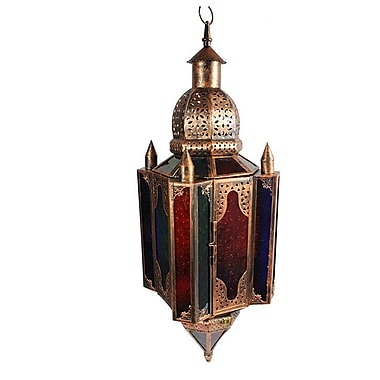 Essential Decor & Beyond Metal Lantern