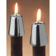 Fashion N You 2 Piece Follower Candle Holder Set; Pewter