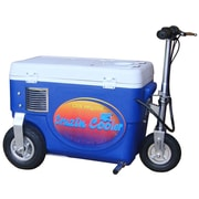 Big Toys 30 Qt. 1000W Scooter Electric Cooler; Blue