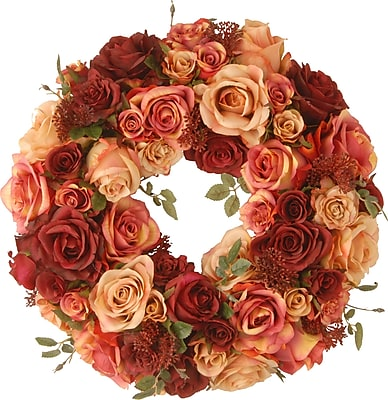 National Tree Co. 15.5'' Rose Wreath