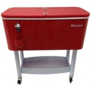 Beacon Garden Products 65 Qt. Rolling Party Cooler; Red
