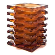 TheAmazingFlamelessCandle Glass Votive; Amber