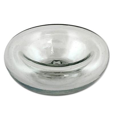 Novica Hand-Blown Glass Tealight