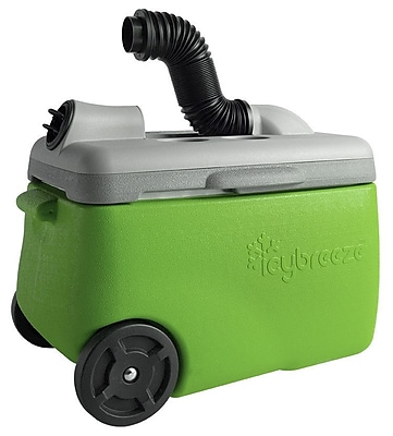 IcyBreeze 38 Qt. Portable Air Conditioner & Cooler 12V Chill; Green WYF078280042465