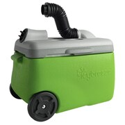IcyBreeze 38 Qt. Portable Air Conditioner & Cooler Whiteout; Green