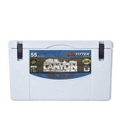CanyonCoolers 55 Qt. Outfitter Rotomolded Cooler; White Marble
