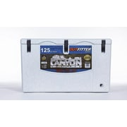 CanyonCoolers 125 Qt. Outfitter Rotomolded Ice Chest; White Marble