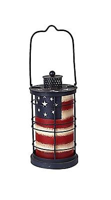 AttractionDesignHome American Glory Metal Lantern; Small