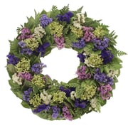 Floral Treasure Spring Meadow Wreath; 18'' H x 18'' W x 4'' D