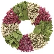Floral Treasure Lavender Swirl Pastel Wreath; 16'' H x 16'' W