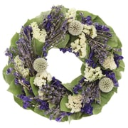 Floral Treasure Wreath; 10'' H x 10'' W x 4'' D
