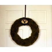 HensonMetalWorks Collegiate Logo Wreath; Brigham Young University