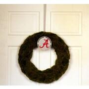 HensonMetalWorks Collegiate Logo Wreath; University of Alabama