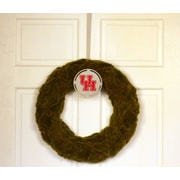 HensonMetalWorks Collegiate Logo Wreath; University of Houston - Red