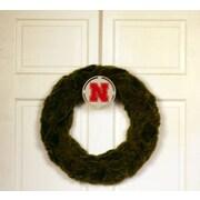HensonMetalWorks Collegiate Logo Wreath; University of Nebraska