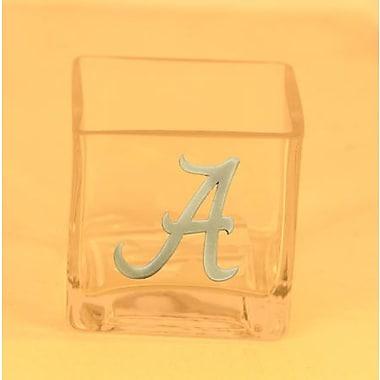 HensonMetalWorks NCAA Cube Glass Votive; University of Alabama