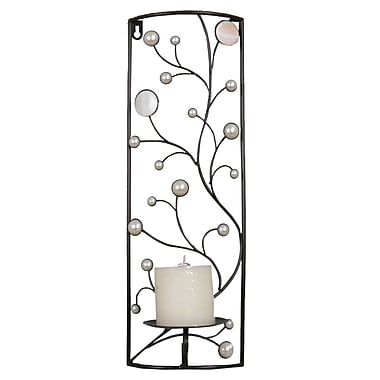 Hazelwood Home Decorative Metal Sconce