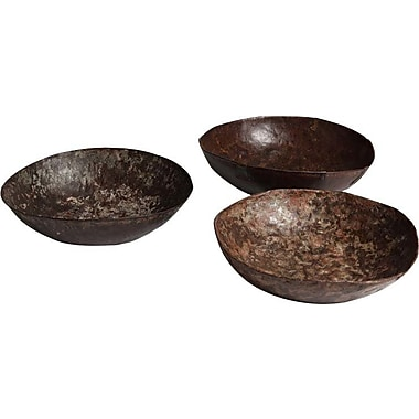 Studio A Iron Decorative Bowl; 15''