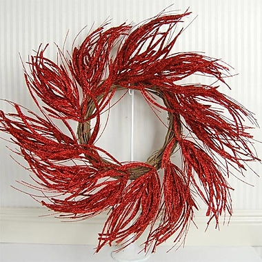 Adams & Co 26'' Twister Grass Glitter Wreath