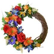 Floral Home Decor 19'' Floral Wreath