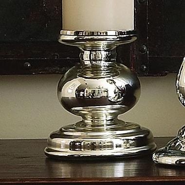 Global Views Cheltenham Glass Candlestick