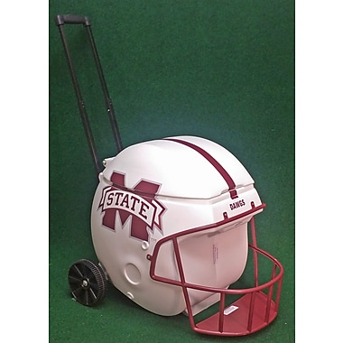 Coolr Coolrz 40 Qt. Football Helmet Ice Chest Rolling Cooler; Mississippi State