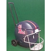 Coolr Coolrz 40 Qt. Football Helmet Ice Chest Rolling Cooler; Ole Miss