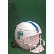 Coolr Coolrz 40 Qt. Football Helmet Ice Chest Rolling Cooler; Tulane
