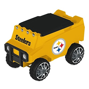 C3 Custom Cooler Creations 30 Qt. NFL Rover Cooler; Pittsburgh Steelers
