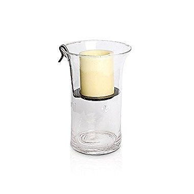 Simplux Candles Wilshire Glass Hurricane