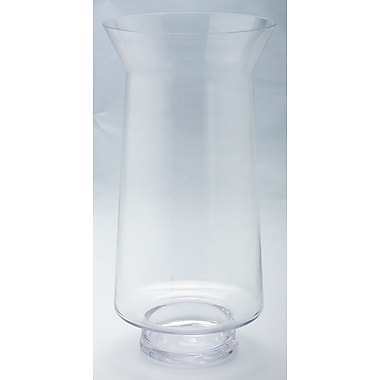 Diamond Star Glass Glass Hurricane Vase