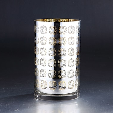 Diamond Star Glass Glass Hurricane