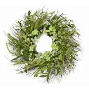Floral Home Decor 24'' Blossom Wreath