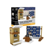NHL Team Locker Room Building Block Set