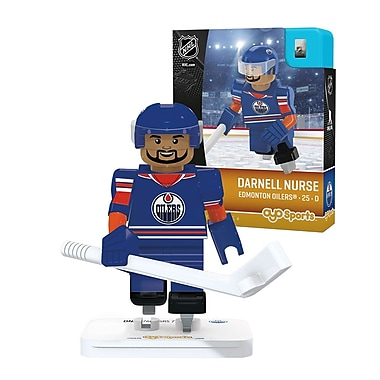 LNH – Darnell Nurse : Minifigurine des Oilers d'Edmonton