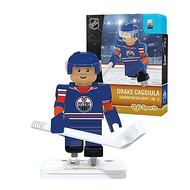 LNH – Drake Caggiula : Minifigurine des Oilers d'Edmonton