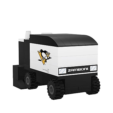 NHL Zamboni Machine: Pittsburgh Penguins Building Block Set